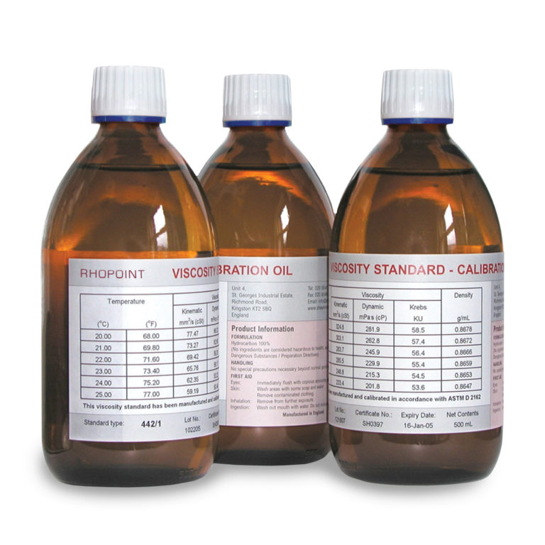 Calibration Oils-White