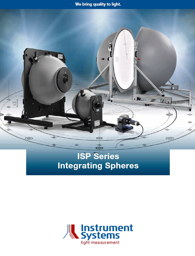 ISP Series Integrating Spheres Brochure