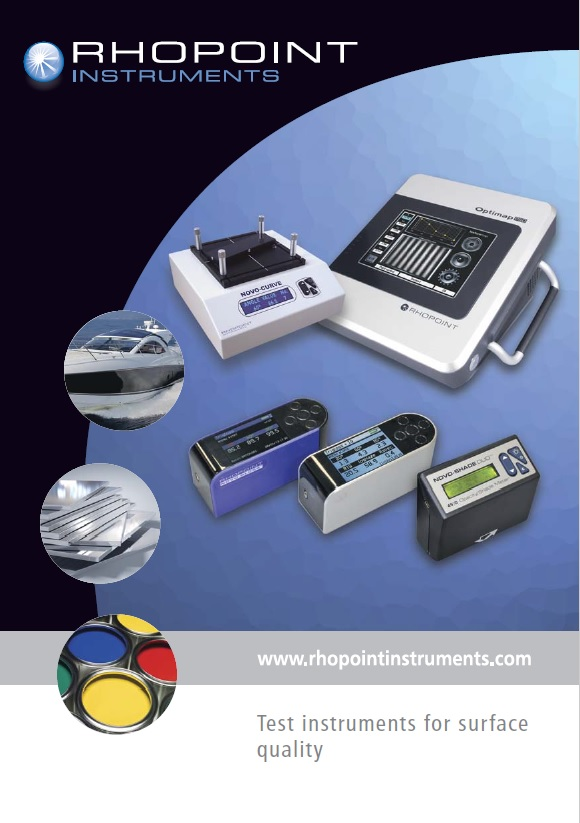 Rhopoint Appearance Testing Equipment Full Brochure
