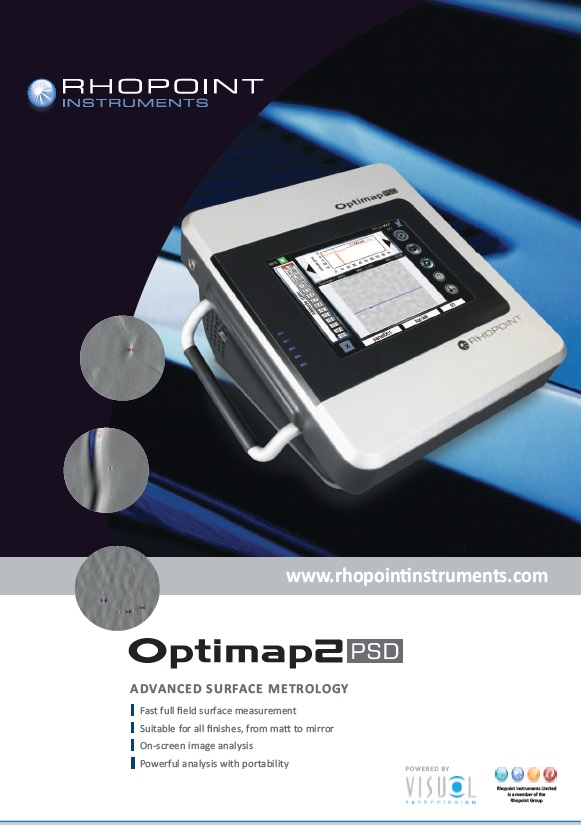 Rhopoint Optimap2 PSD Brochure
