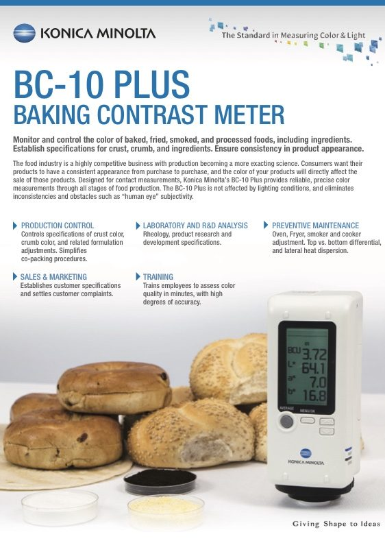 bc-10plus baking contrast meter