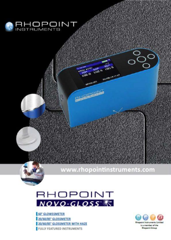 rhopoint novo glossmeter